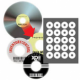 PhotoMatte CD/DVD Core Labels - 500 Pack