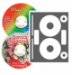 Neato - High Gloss Photo Quality CD/DVD Labels - 40 Pack (20 sheets, 40 labels)